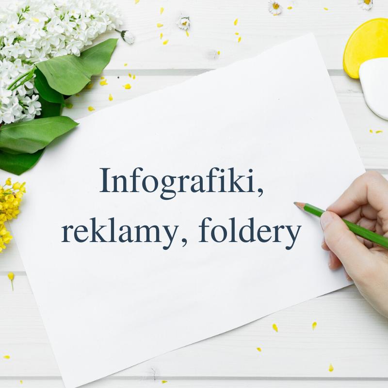 foldery infografiki reklamy