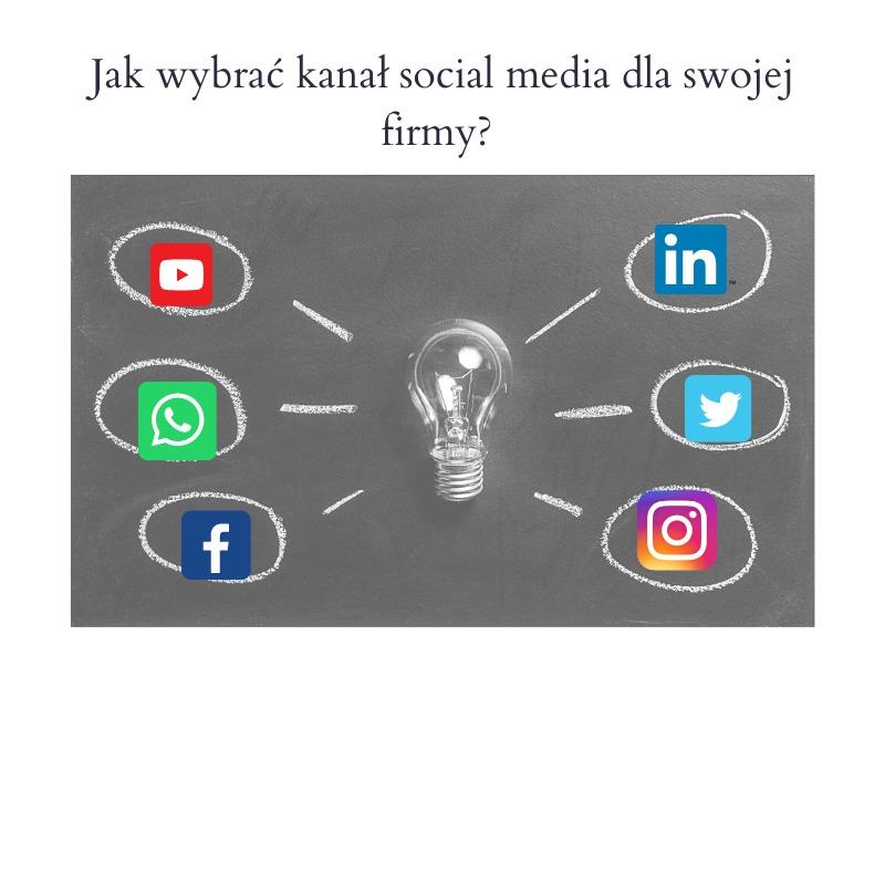 Jak wybrać social media dla firmy?